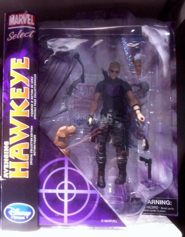 Marvel Select Hawkeye exclu Dinseystore