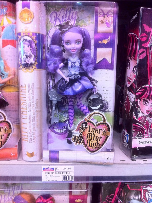 Kitty Cheshire, fille du chat d'Alice aux pays des merveilles EVER AFTER HIGH