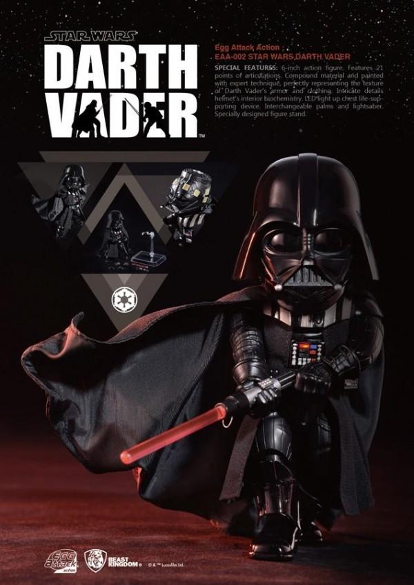 Egg Attack Action #002 Star Wars Episode V Darth Vader