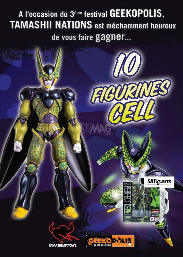 geekopolis shfiguarts CELL-02