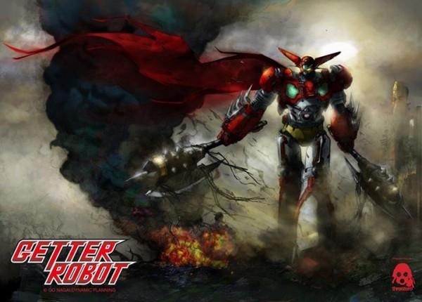 getter Robot threezero