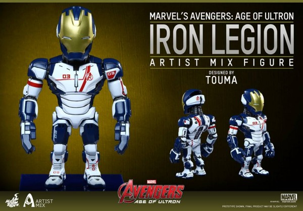 hot toys avengers artist mix 12