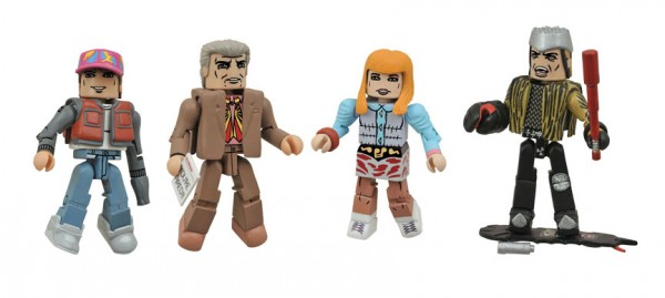 Back to the Future 30th Ann. 2015 Minimates Box Set