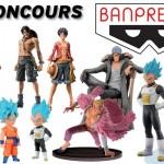 Concours Bandai – Banpresto – Toyzmag