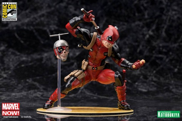 "Deadpool ""Chimichanga"" SDCC Limited Edition ARTFX+."