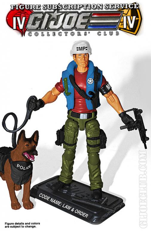 GIJCC: FSS G.I. JOE MILITARY POLICE & K-9: LAW & ORDER