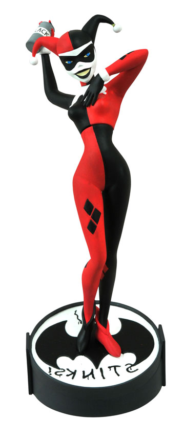 Batman The Animated Series Femme Fatales Harley Quinn PVC Statue