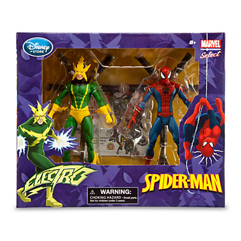 spider-man electro MARVEL LEGENDS SOLDE