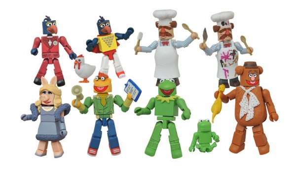 Muppets Minimates Series 1 Two-Pack Asst.