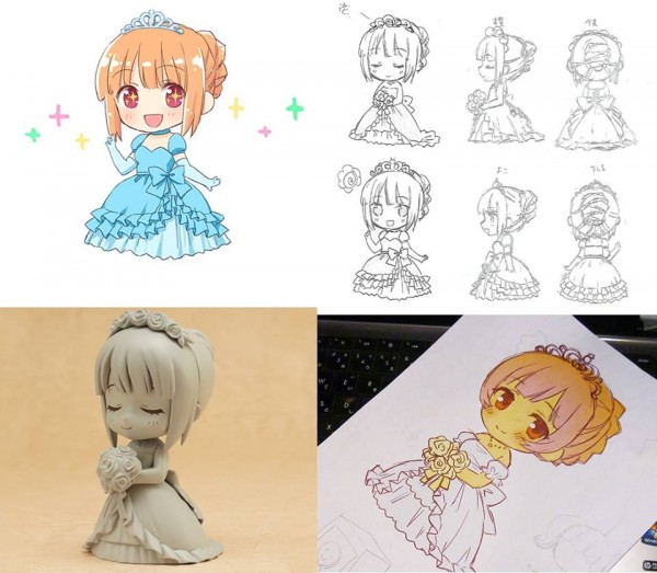 Nendoroid more SABER wedding Dress-