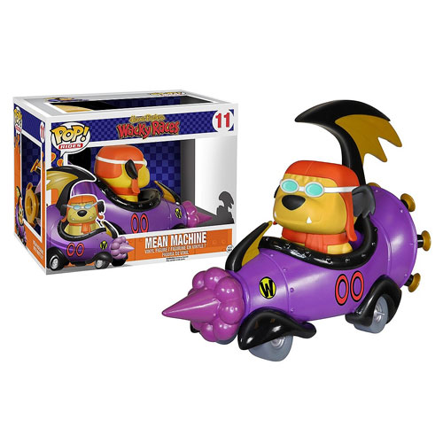 POP Satanas et Diabolo (Dick Dastardly & Muttley) dans la Démone Double-Zéro Grand Sport (The Mean Machine)  Les Fous du volant (Wacky Races)