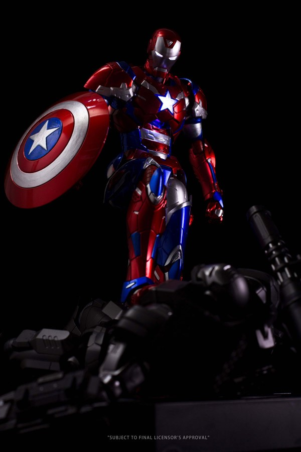 RE:EDIT IRON MAN  Iron Patriot SENTINNEL LTD