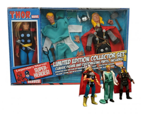 Marvel Retro Thor Action Figure Limited Edition Gift Set