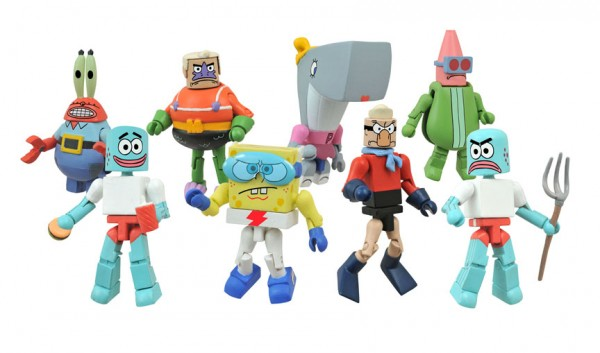 SpongeBob SquarePants Minimates Two-Packs Series 2 Asst.