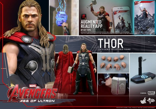 age of ultron thor hot toys 1