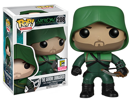 arrow unmasked funko