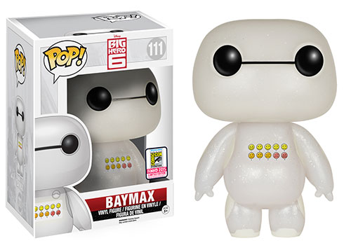 big hero 6 baymax emoticon sdcc funko