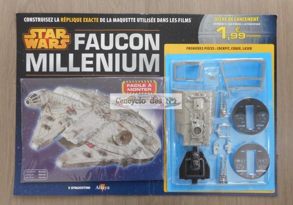 N° 1 construisez le Faucon Millenium - Lancement Aout 2015