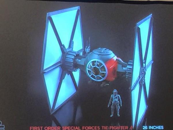 1st order star wars tie