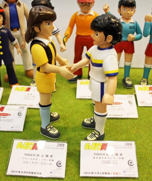 Captain Tsubasa Olive et Tom soft vinyl Kou Shou Do