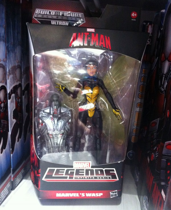 Marvel Legends ant-man baf Ultron WASP