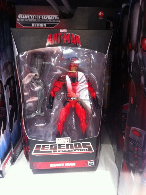 Marvel Legends ant-man baf Ultron GIANT MAN