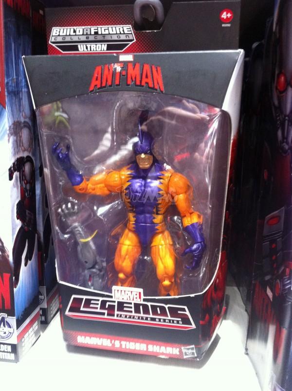 Marvel Legends ant-man baf Utron TIGER SHARK