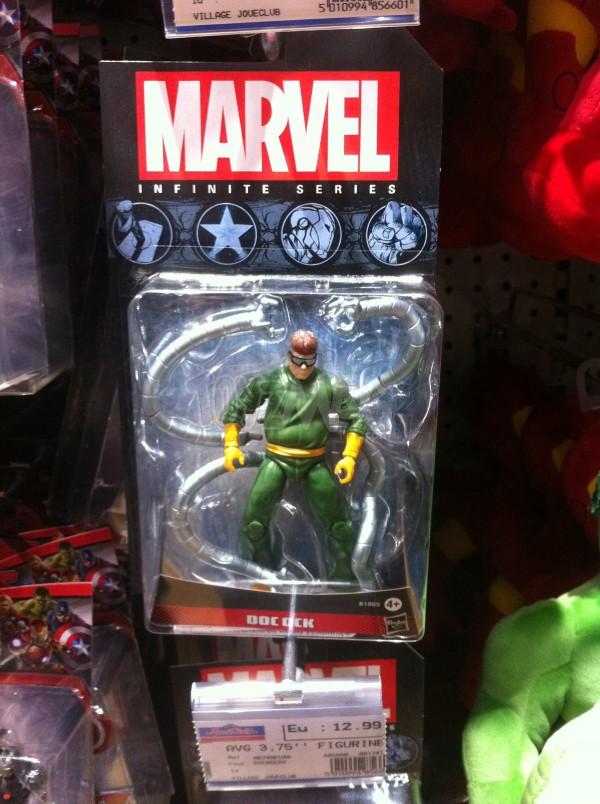 Docteur Octopuce Mavel Infinite Series de Hasbro,