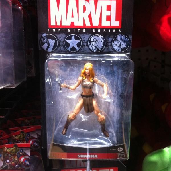 shanna Mavel Infinite Series de Hasbro,