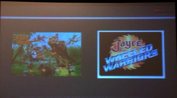 JAYCE et dino riders