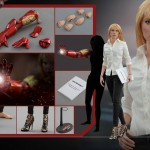 Pepper Potts Iron Man 3 par Hot Toys