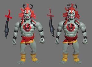 Mumm - Ra variante de la couleur rouge