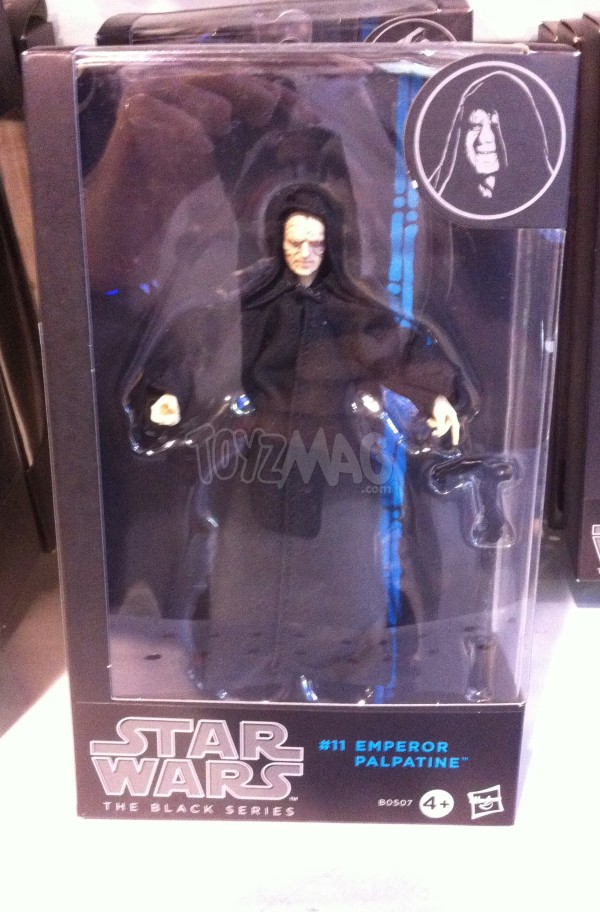 star wars black series 6inch Empreur