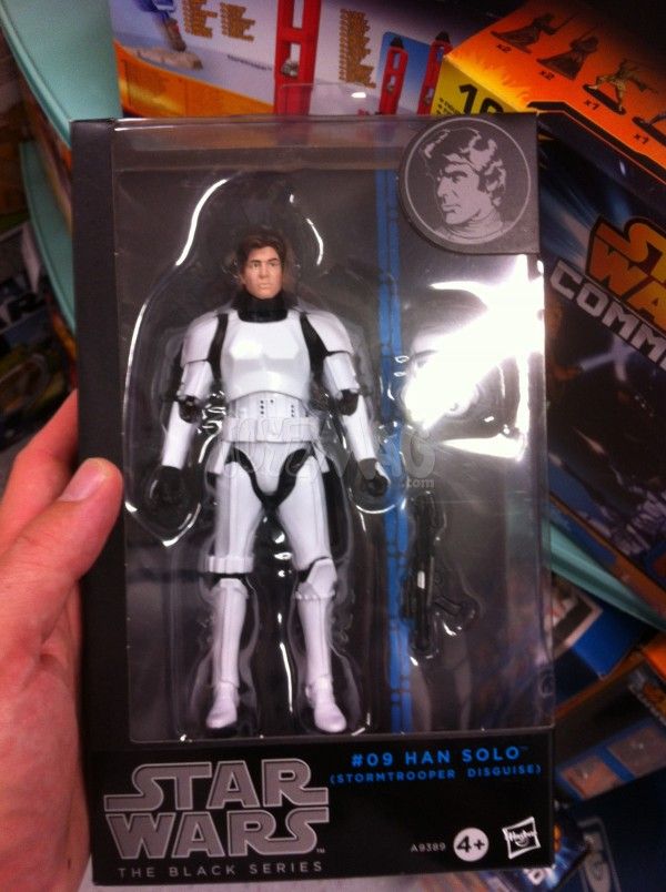 star wars black series Han sol stormtrooper