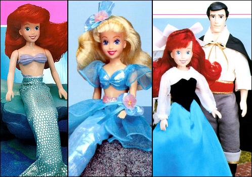 """Les Poupées Disney """"la Petite Sirène"""""""