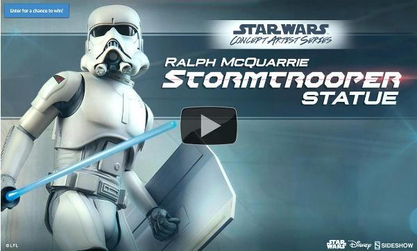 Sideshow Stormtrooper Statue Preview 01