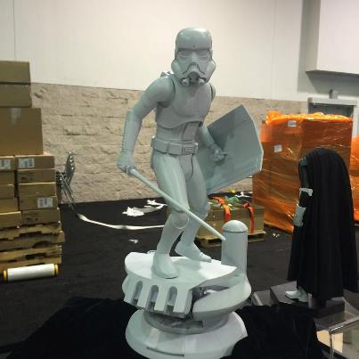 Sideshow Stormtrooper Statue Preview 02