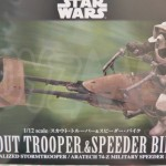 Star Wars Bandai : Scout Trooper & Speeder Bike