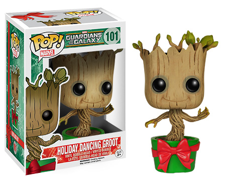 funko pop holiday dancing groot