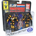 Crossover G.I.Joe Transformers 2 doubles packs