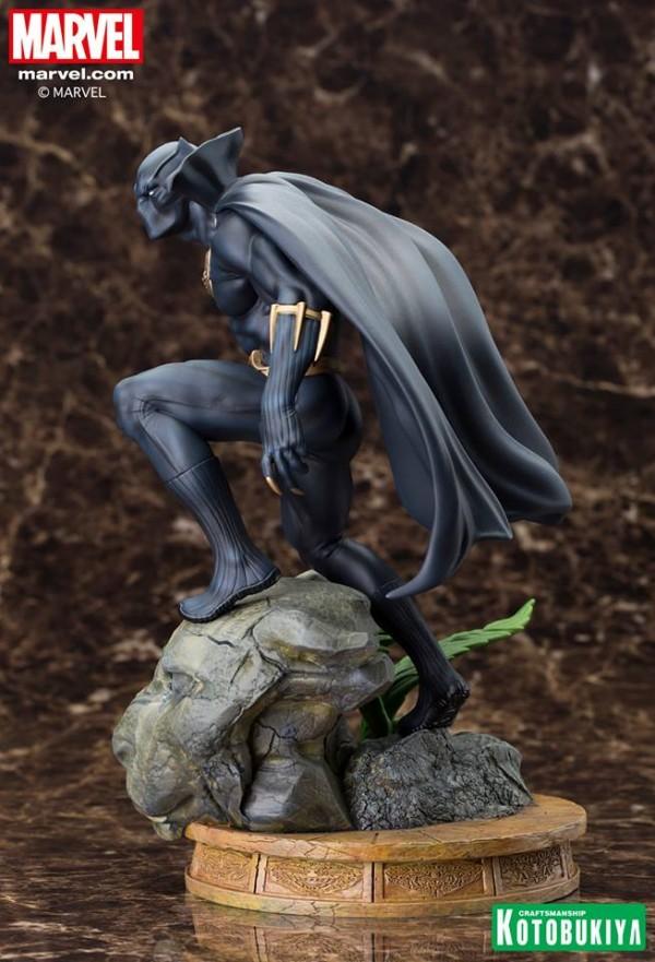 Marvel Comics Black Panther Fine Art Statue