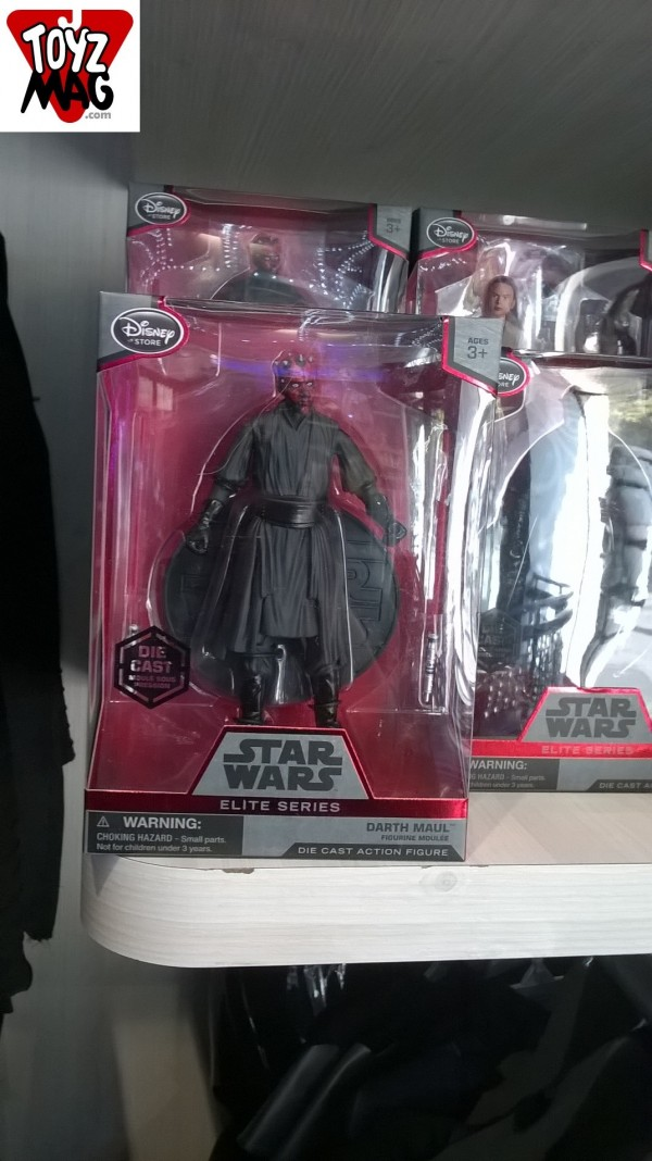 Star Wars Elite Darth Maul disney Store exclu 2015