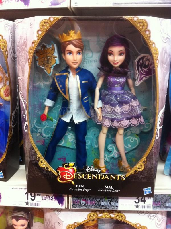 Disney Descendants les poupées Hasbro