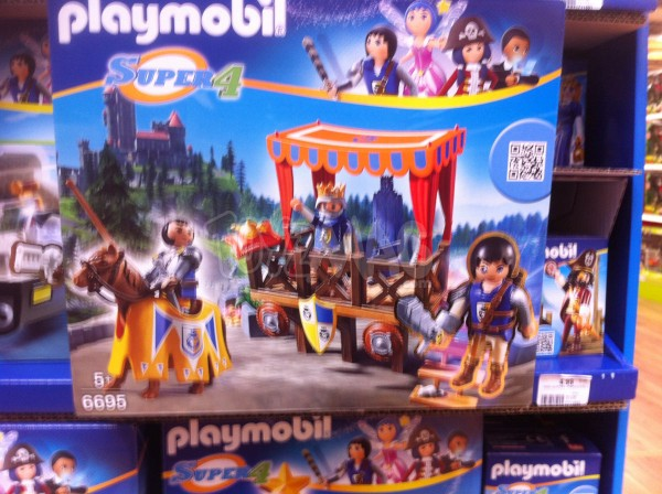 jouet Playmobil Super4
