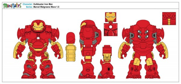 Marvel Walgreens Wave 1,5 - Hulkbuster Iron Man