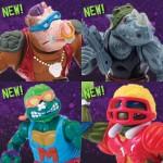 Tortues Ninja Retro 4 nouvelles figurines rééditées