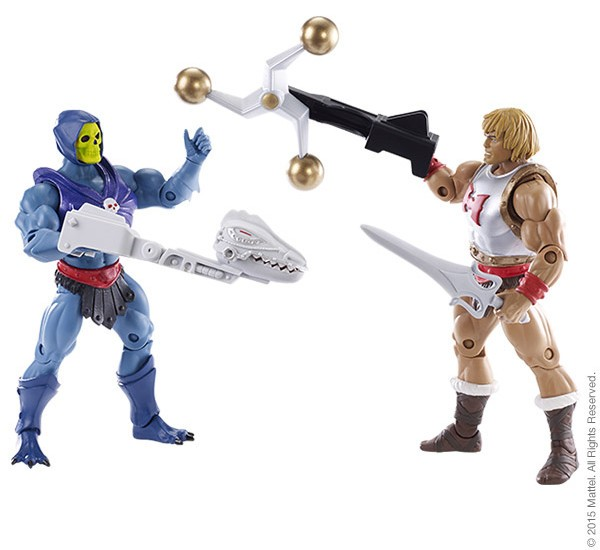 Masters of the Universe Classics Flying Fist He-Man vs Terror Claw Skeletor