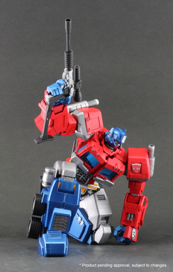 Hero of Steel 01 - Optimus Prime color sample