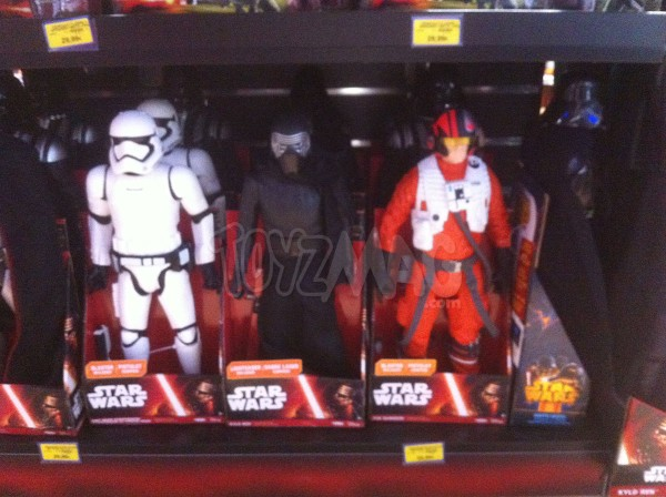 Star Wars episode 7 Le Réveil de la Force : Captain Phasma, Kulo Ren, First order Stormtrooper, Poe Dameron