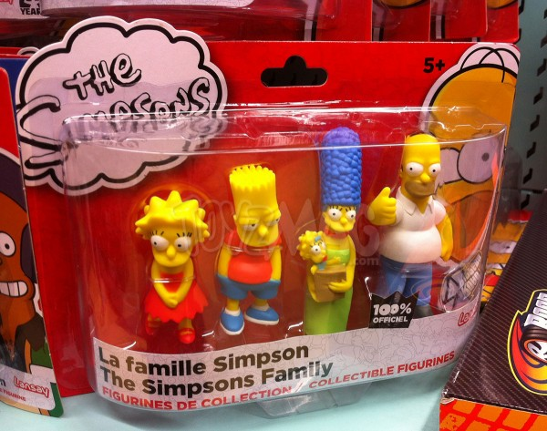 figurines PVC The Simpsons